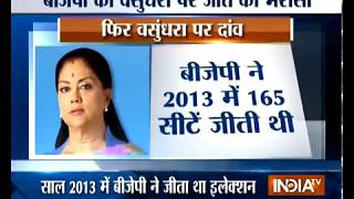BJP to play up Vasundhara Raje as Chief Ministerial face in Rajasthan