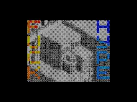 Run Away From Hype - Den Popov  [4k Video][#zx spectrum AY Music Demo]