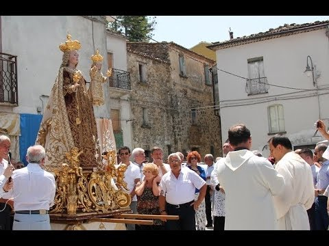 Preview video Video processione Madonna del Carmine 2018 diretta streaming Laurenzana 16 luglio 2018