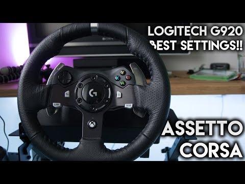 Logitech G920 settings Forza Horizon 4 - BEST SETTINGS DRIFT