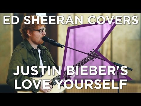 Ed Sheeran Covers Justin Bieber's 'Love Yourself' (Live) | KISS Presents Mp3