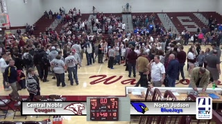IHSAA Class 2A Girls Basketball Regional #9 Championship @ Winamac - North Judson vs Central Noble