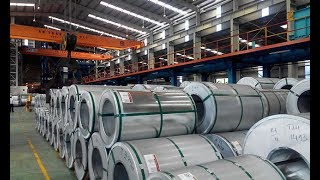 The manufacture of rolled/ galvanized/ color-coated steel sheet