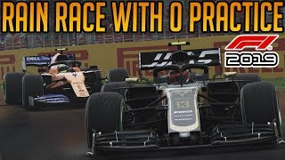 F1 2019: Racing In The Rain With No Practice | Career Mode Part 2