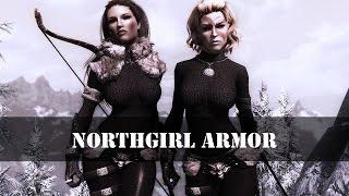 TES 5: Skyrim | Броня северянки для UNP