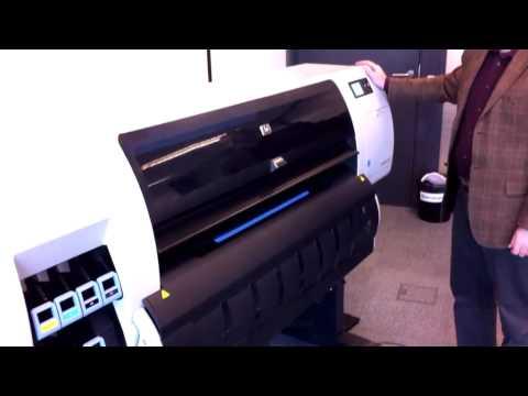 HP DesignJet T7100. Обзор высокоскоростного плоттера.