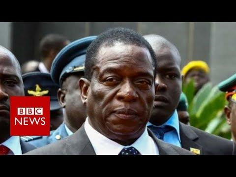 Zimbabwe's Mnangagwa returns as Mugabe's likely successor  – BBC News