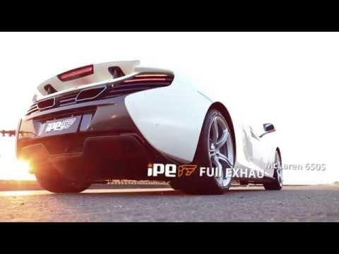 iPE exhaust system for McLaren 650S - Innotech Performance Exhaust