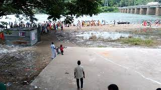 Cauvery river at Mettur dam during Aadi 18 | Latest video of River Cauvery Aug 3rd 2018