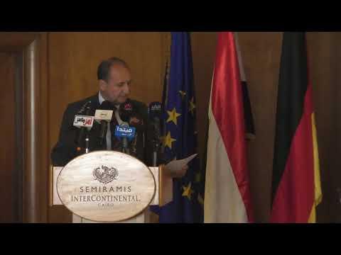 الوزير/عمرو نصار خلال افتتاح منتدى الاعمال المصرى الالمانى المشترك