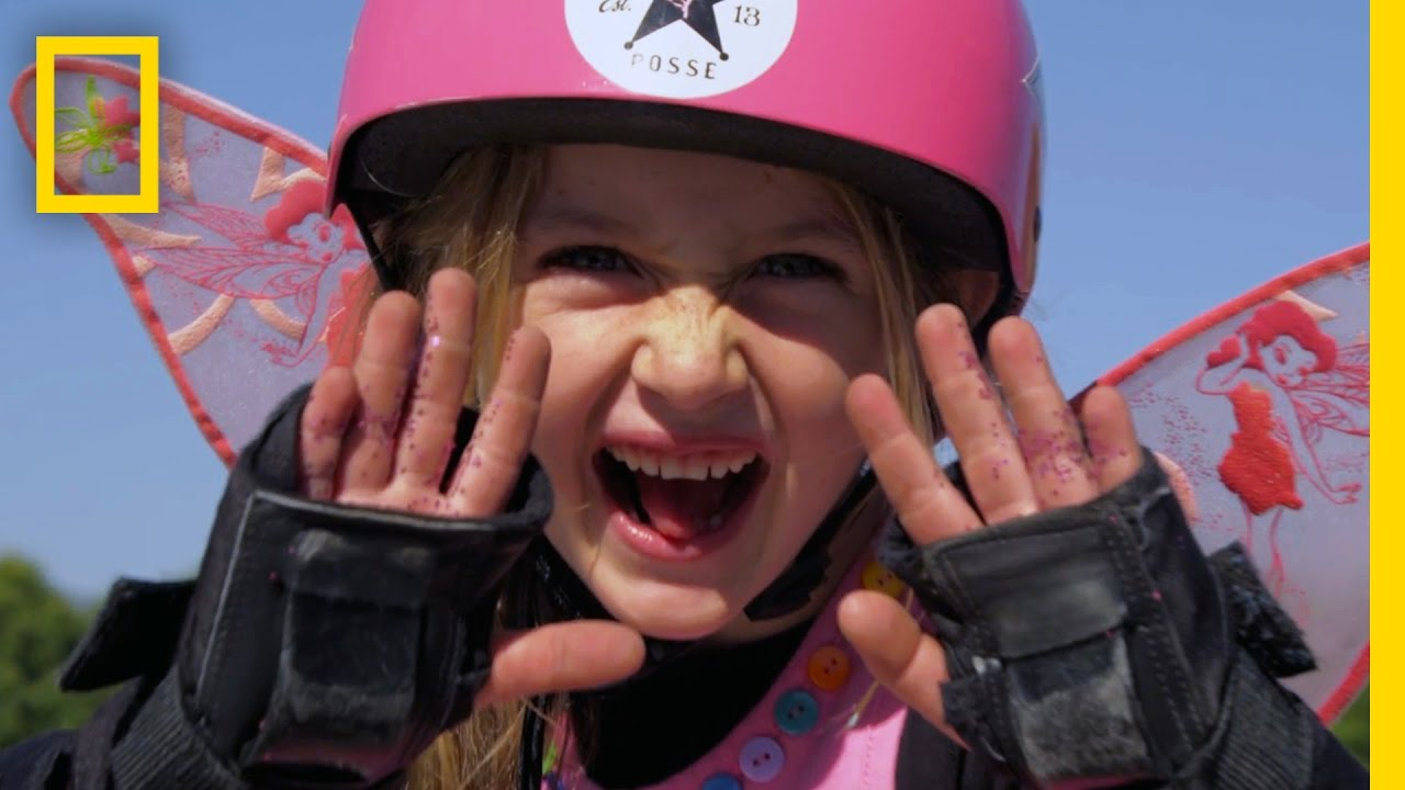 Gnarly in Pink: These Skateboarding Girls Shred With the Boys | Short Film Showcase thumbnail