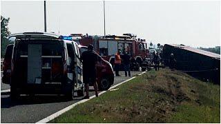 В Хорватии в результате ДТП погибли 10 человек, более 40 – пострадали