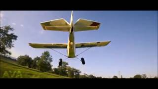 FPV chase / RC Tundra and hybrid quadcopter