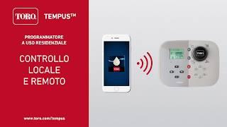 Toro Tempus remote control