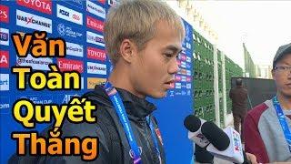 Thử Thách Bóng Đá DKP đi xem Văn Toàn ĐT Việt Nam quyết thắng Iraq Asian Cup 2019 cùng Quang Hải