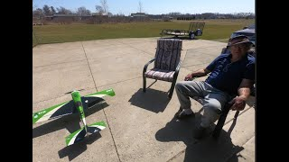 Precision Aerobatics Extra 260 with GoPro FPV flying at Casey's House.