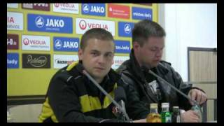 Pressekonferenz Ultras Dynamo vs. Red Kaos