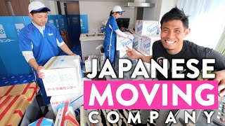 What a Japanese Moving Company in Tokyo is like