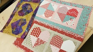 Valentines Day Sweetheart Table Runner + Pre-cut Kit Giveaway!