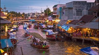 Amphawa Floating Market Thailand.This video 22 minutes.