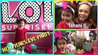 In Real Life Showbaby at LOL Surprise Confetti Pop New Years Eve Party With Guest Star Tahani