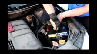 Установка аккумулятора на Subaru Tribeca 3.6i: Rocket 65Ah JR+ (75D23L)