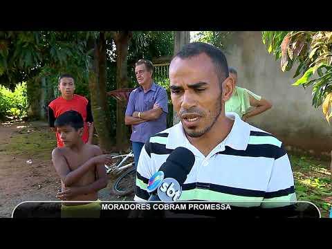 JMD (05/04/18 ) - Prefeitura de Aparecida não cumpre promessa no Setor Rosa dos Ventos