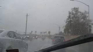 The Rainy Season Finally Arrives To California (November 2017) Video #3