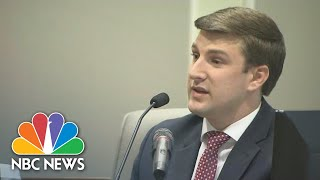 North Carolina House Candidate's Son Gives Surprise Testimony   NBC News
