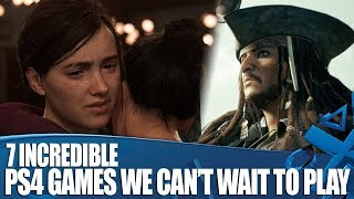 7 Incredible PlayStation Games We Can