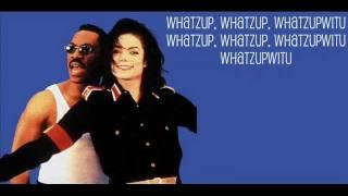 Eddie Murphy Ft. Michael Jackson - Whats Up With You. (Lyrics).