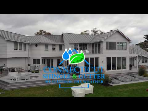 Another beautiful home clad in RainPRO Rain Gutters with