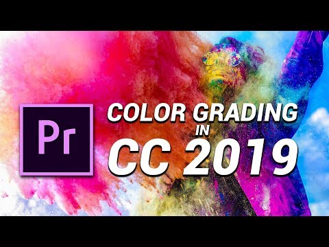 5 COLOR GRADING TRICKS in PREMIERE PRO 2019