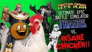 Ultimate Epic Battle Simulator: THANOS VS INSANE CHICKEN!!!