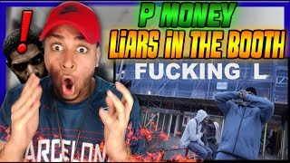 50 CENT OF UK BACK AGAIN! | P Money - Liars In The Booth (Dot Rotten Diss) Reaction AMERICAN LISTENS