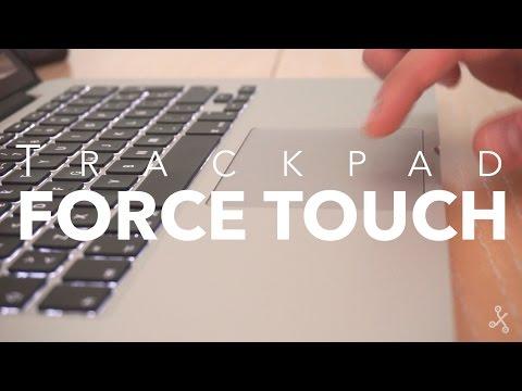 Nuevo Trackpad Force Touch de Apple, así funciona