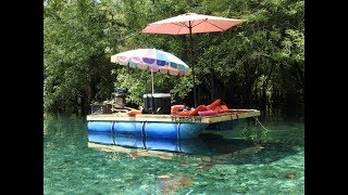 My $200 Homemade Pontoon Boat Build Part 2 - hmong video