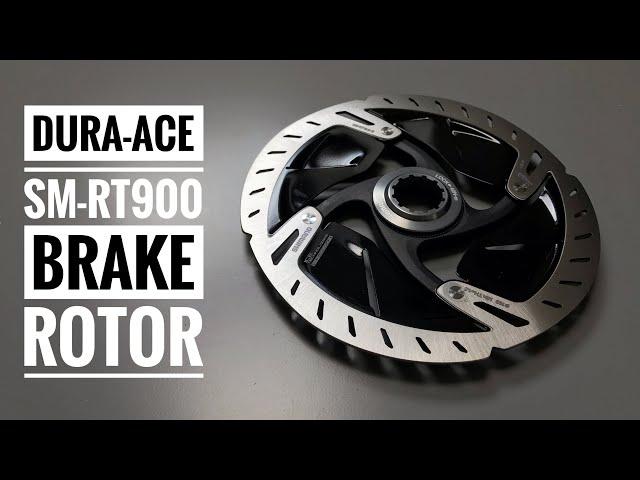 Видео Ротор Shimano Dura-Ace SM-RT900-S 160mm Center Lock