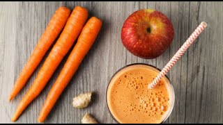 How to make Apple and Carrot Puree for infants #6month Healthy Baby Food
