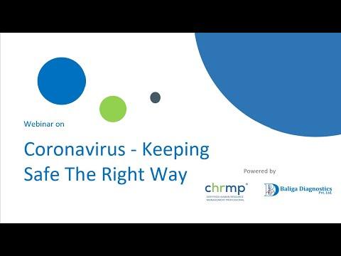 CoronaVirus - What To KNow