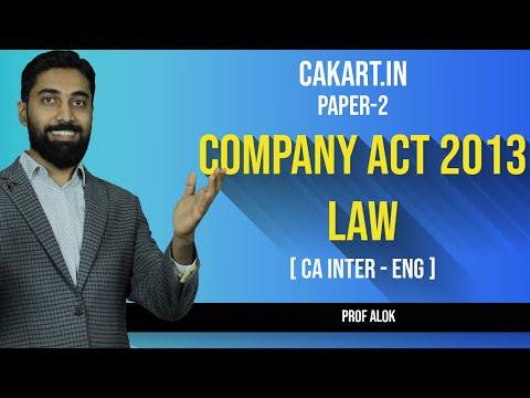 Corporate & Other Laws Lecture by Prof Alok