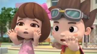 [범죄 사고예방] 어린이 경찰 만화, 출동 포돌이가 간다
