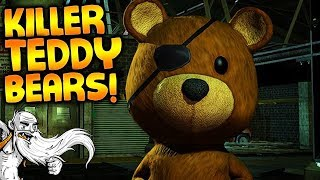 "Sneaky Bears VR Gameplay - ""KILLER TEDDY BEARS IN VR!!!"" Virtual Reality Let"