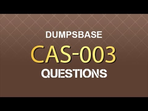 New CompTIA CASP CAS-003 Exam Dumps V12.02 is Available ...