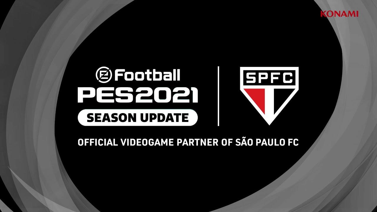 eFootball PES2021 | Anuncio de trailer con Sao Paulo