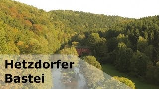 preview picture of video 'Wanderungen bei Eppendorf Teil 1: Hetzdorfer Bastei'