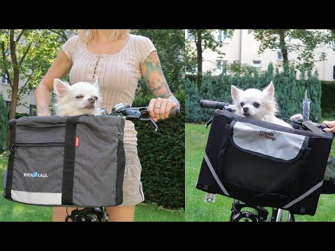 Hundefahrradkörbe Vergleich mit Demo | Rixen Kaul, Doggy vs Friends On Tour, Trixie