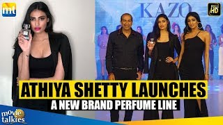 Athiya Shetty Launches A New Brand Of Perfume Line