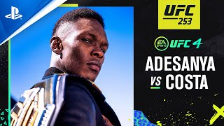 PlayStation EA Sports UFC 4 - UFC 253: Israel Adesanya vs Paulo Costa | PS4 anuncio