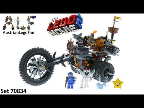 Vidéo LEGO The LEGO Movie 70834 : Le tricycle motorisé en métal de Barbe d'Acier !